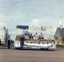 Square Dance Float for Grande Prairie Parade