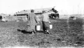 Doing Chores on the Homestead