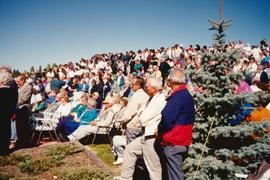 Audience at Pope's Hill