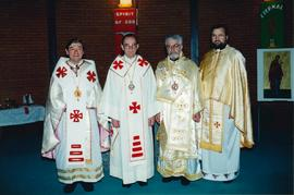 Clergy at Inter-Eparchial Retreat, Saskatchewan