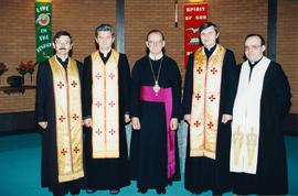 Clergy at Inter-Eparchial Retreat