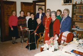 Metr. Emeritus Hermaniuk with UCWLC Carollers