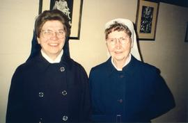 Sr. Nathanial and Sr. Stephanita