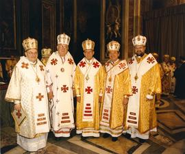 Canadian Bishops at 400th Anniversary of Union of Brest
