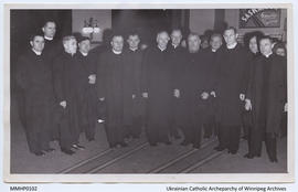 Clergy Gathering, with Eugène Cardinal Tesserant