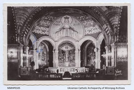 Interior Church of the Rosary, Lourdes