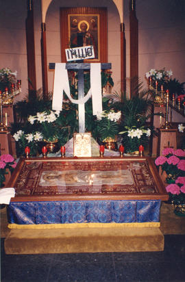 St. Nicholas Church, Winnipeg, Good Friday, 1994
