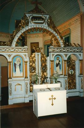Iconostas of St. Onofrius Church in Ottawa