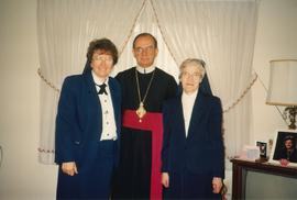 Metr. Michael Bzdel with sisters