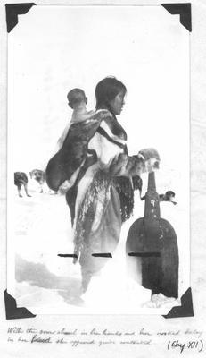 Eskimo Woman with Child