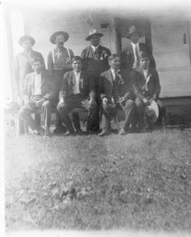 Native Men Posing for Formal Portrait