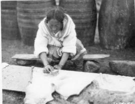 Inuit Woman Working for the Hudson's Bay Company