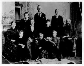 Aberhart family photograph
