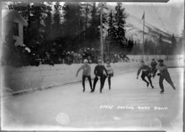 Banff Winter Carnival, speed skating races