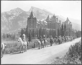 Canada. Alberta, Banff. (The Rockies) Indian Days. The Springs Hotel / CN156.