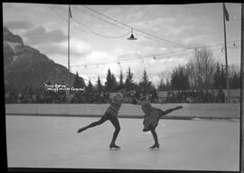 """Fancy skating"" Banff Winter Carnival"