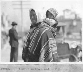 Indian mother and child / 27293