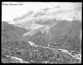 Asulkan Glacier, test picture (best? scratched) (No.16) 1910