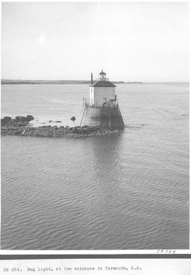 Bug Light, at the entrance to Yarmouth, N. S.  / CN264