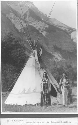 Canada. Stony Indians [Stoney Indians] of the Canadian Rockies / CN79
