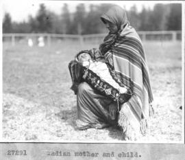 Indian mother and child / 27291