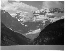 Lake Louise and Mount Victoria.