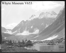 Mts. Fay and Bident  8/1910