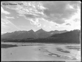 (No.12) : [unidentified river and mountains]