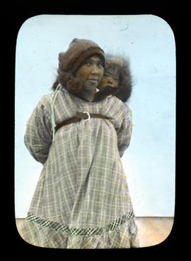 Native woman and child - Nome Alaska
