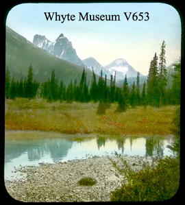 Wiwaxy Peaks, Park Mtn. from Lake O'Hara Trail 1902