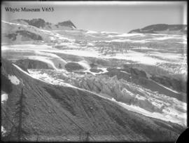Castor, Pollux and Asulkan Glacier from photographic point (No.64). 8/12/99