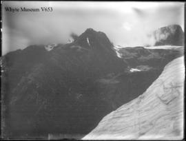 Eagle Peak and Sir Donald from Illecillewaet Glacier (No.92). 1899