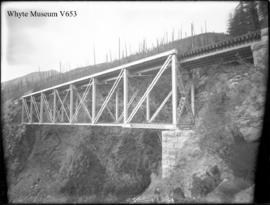 Cedar Creek bridge, Rogers Pass (No.43). 8/8/99