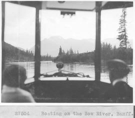 Boating on the Bow River, Banff / 27504