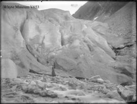 Ice forefoot of Illecillewaet Glacier (No.80). 8/17/99