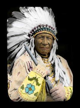 Chief Duck Head, Chief of Blackfoot First Nations