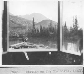 Boating on the Bow River, Banff / 27503