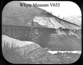 Mountain Creek fill from west, Rogers' Pass, 1899
